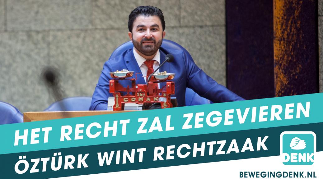 Kantonrechter geeft Tweede Kamerlid Öztürk gelijk